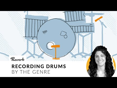 How To Record Drums For 5 Genres: Classic & Modern Rock, Smooth '70s, Indie Folk, and Jazz | Reverb