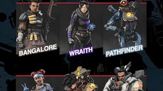 Apex legends All Finisher Moves || Best Execution ??