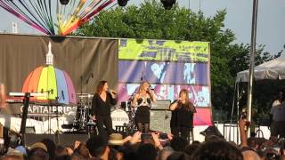 3/4 Wilson Phillips - Release Me @ Capital Pride 2015, Washington, DC 6/14/15