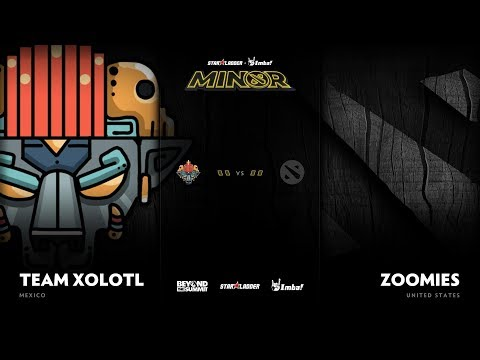 Team Xolotl vs Zoomies Game 2 - SL ImbaTV D2 Minor S3 NA Qualifier: Losers' Round 1