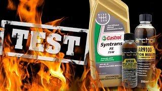 Castrol Syntrans FE 75W + Archoil AR9300 + AR9100 - 25000km Najlepszy olej przekładniowy?