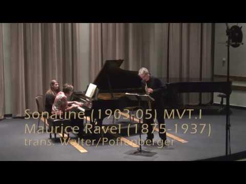 Maurice Ravel Sonatine Mvt 1 Modere