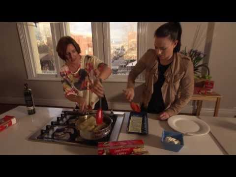 Inside Out Lasagna featuring Kerry Leech and Natalie von Bertouch