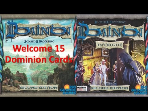 Welcome 15 Dominion Cards