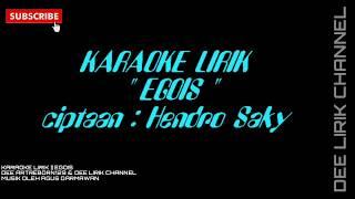 Karaoke Tanpa Vokal | Egois | Via Vallen || yamaha psr s790