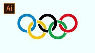 Download lagu How To Create Olympic Rings Logo In Adobe Illustrator | Thuy Uyen Design