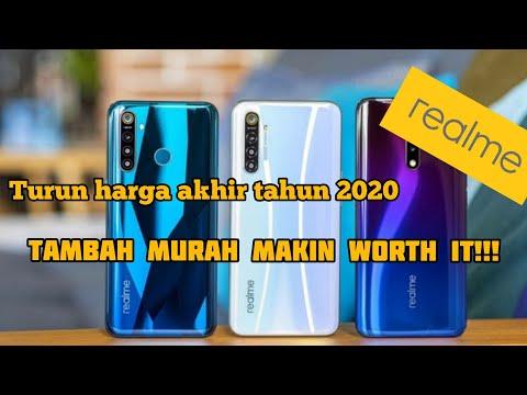 5 HP REALME TERBARU 2020 ( Harga Mulai 1,6 Jutaan ).