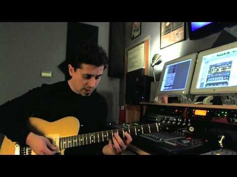 Blues Rhythms - #3 - Guitar Lesson - Corey Congilio