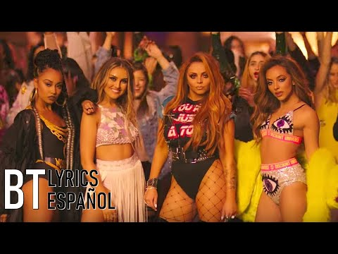 Little Mix - Power ft. Stormzy (Lyrics + Español) Video Official