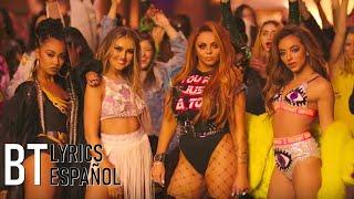 Little Mix - Power ft. Stormzy (Lyrics + Español) Video Official