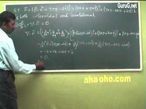 Unit-2 Diverg Curl Problems - Mathematics