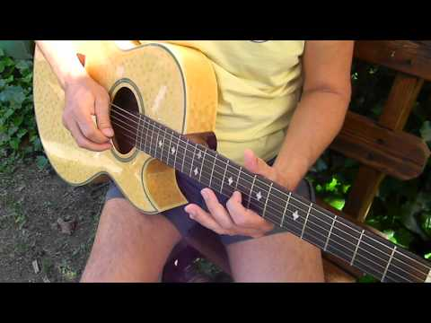 How to play Crazy Arms - By Ray Price - Easy Old Country Songs - L141