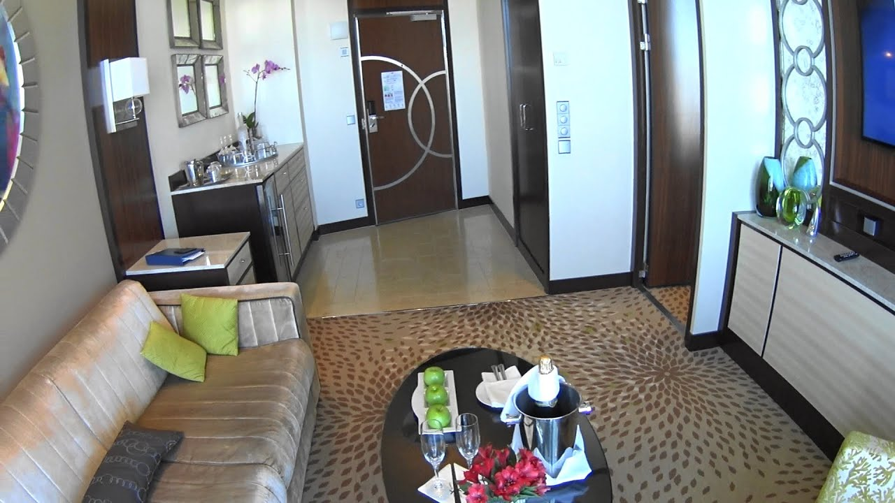 AquaClass Suite with Veranda onboard Celebrity Solstice ...
