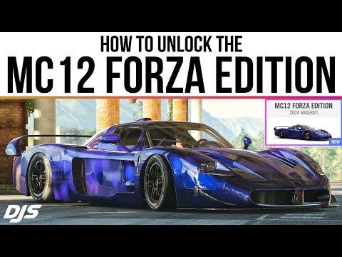 Forza Horizon 4 - How To Unlock The MASERATI MC12 FORZA EDITION