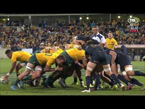2017 Rugby Championship Rd 4: Australia V Argentina