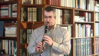 Que reste t-il de nos amours (I Wish You Love) Charles Trenet Clarinet Jazz
