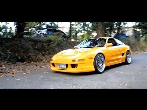 University Of Toyota >> Toyota MR2 SW20 Turbo | SUNSET YELLOW | HD - YouTube