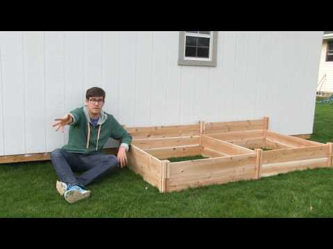 World's Easiest $30 Modular Raised Bed Build - No Tools Required!