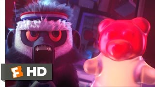 Cloudy with a Chance of Meatballs - Vicious Gummi Bears Scene (8/10) | Movieclips thumbnail
