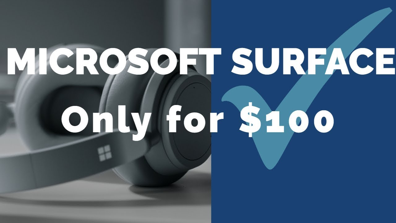 Surface Headphones are Available at Microsoft Store at $100 Discount | Tech News | theDaw