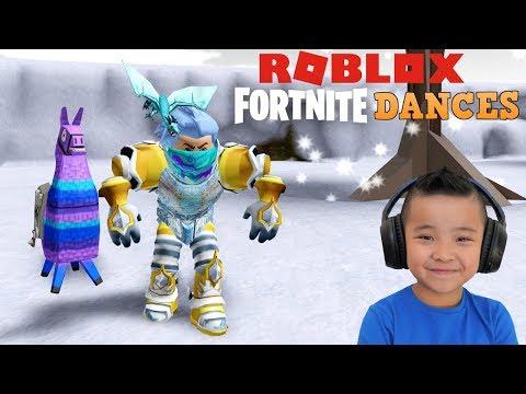 Roblox Fortnite Dance Challenge CKN Gaming