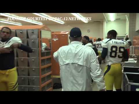 Cal Football: Locker Room Celebration vs WSU 10/13/2012