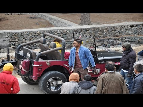 Telugu film starring superstar Allu Arjun shot in Pahalgam