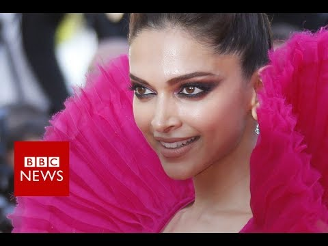 Indian Actress Deepika Padukone on the