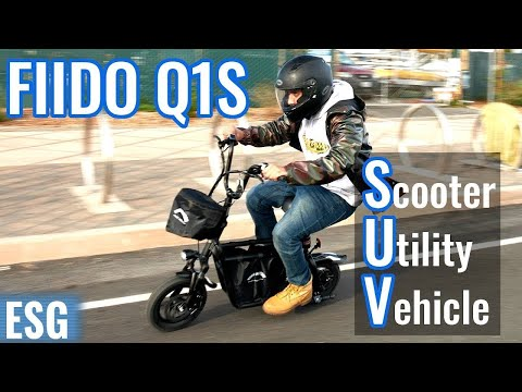 Fun SUV (Scooter Utility Vehicle) | FIIDO Q1S Electric Scooter Review