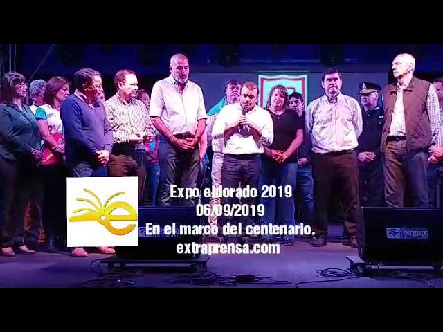 Expo del centenario Eldorado 2019