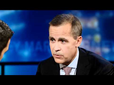 Mark Carney on Occupy, Running for Office, and Hockey