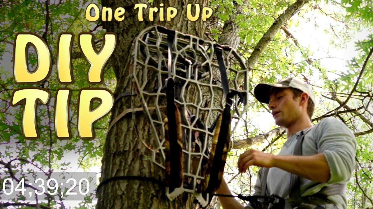 how to make tree stand climbing sticks