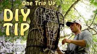 How To Hang A Tree Stand In 5 Minutes!