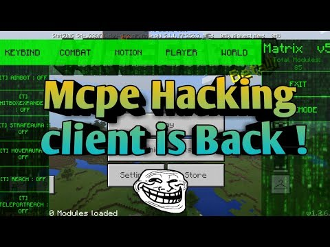 Mcpe Servers Hacking client is Back ! [lbsg] 1.2.3