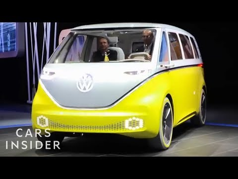 Classic Volkswagen Bus Is Coming Back As An Electric Vehicle
