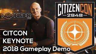 Star Citizen - CitizenCon 2018 Gameplay Demo 3.3.5