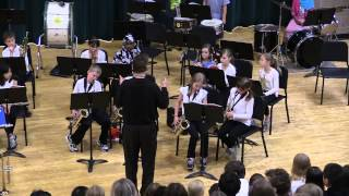 barton beginner band saxophone demo morning