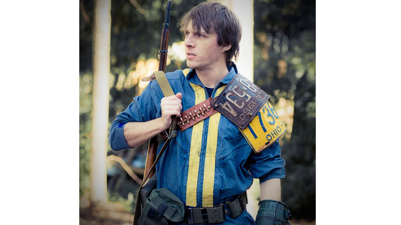 diy how to make a vault dweller cosplay from fallout youtube