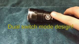 Warsun MX900 Flashlight