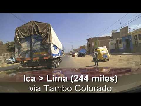 Peru Road Trip Driving Route May 2017 - Brinno time-lapse drive-lapse