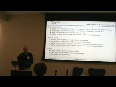 [TEC event] Mike Cassidy on Startup Strategy