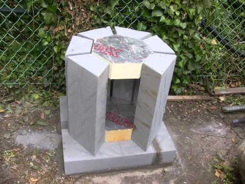 . Aluminium furnace new casting project
