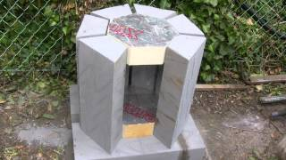 aluminium furnace new casting project
