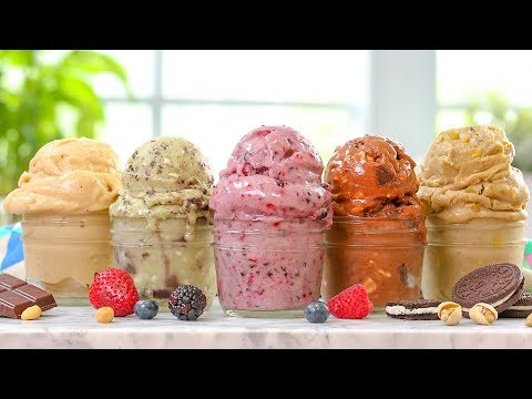 "5 EASY Vegan ""Ice Cream"" Recipes 
