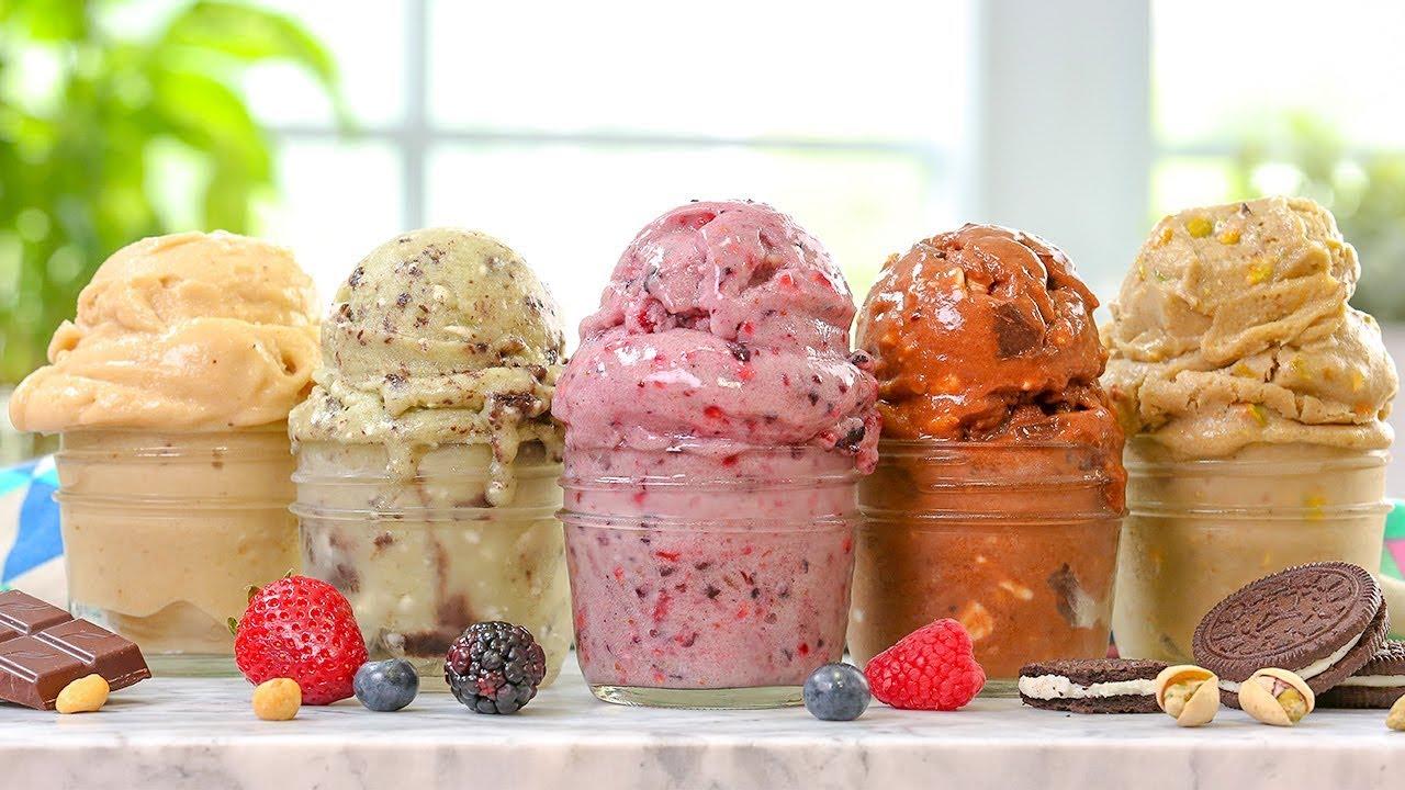 "5 EASY Vegan ""Ice Cream"" Recipes"