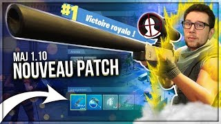 TOP 1 OF OUF - SNIPER ON THE NEW PATCH! 😱 (Fortnite Battle Royale)