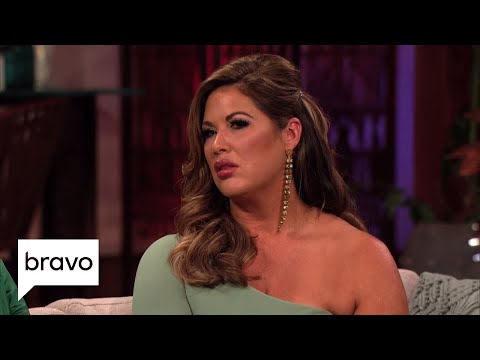 Does Emily Simpson Contradict Herself While Defending Her Husband? | RHOC: S13, Ep20 | Bravo