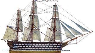 Сборка линейного корабля 12 Апостолов 1100 часть 8