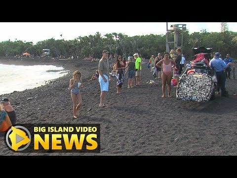 Isaac Hale Beach Park At Pohoiki Reopens (Dec. 6, 2018)