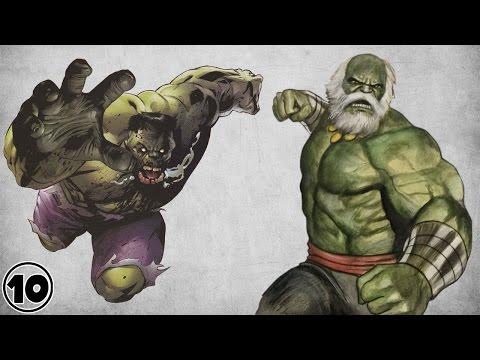Top 10 Alternate Versions Of The Hulk
